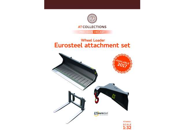 Eurosteel Wheelloader Attachment set