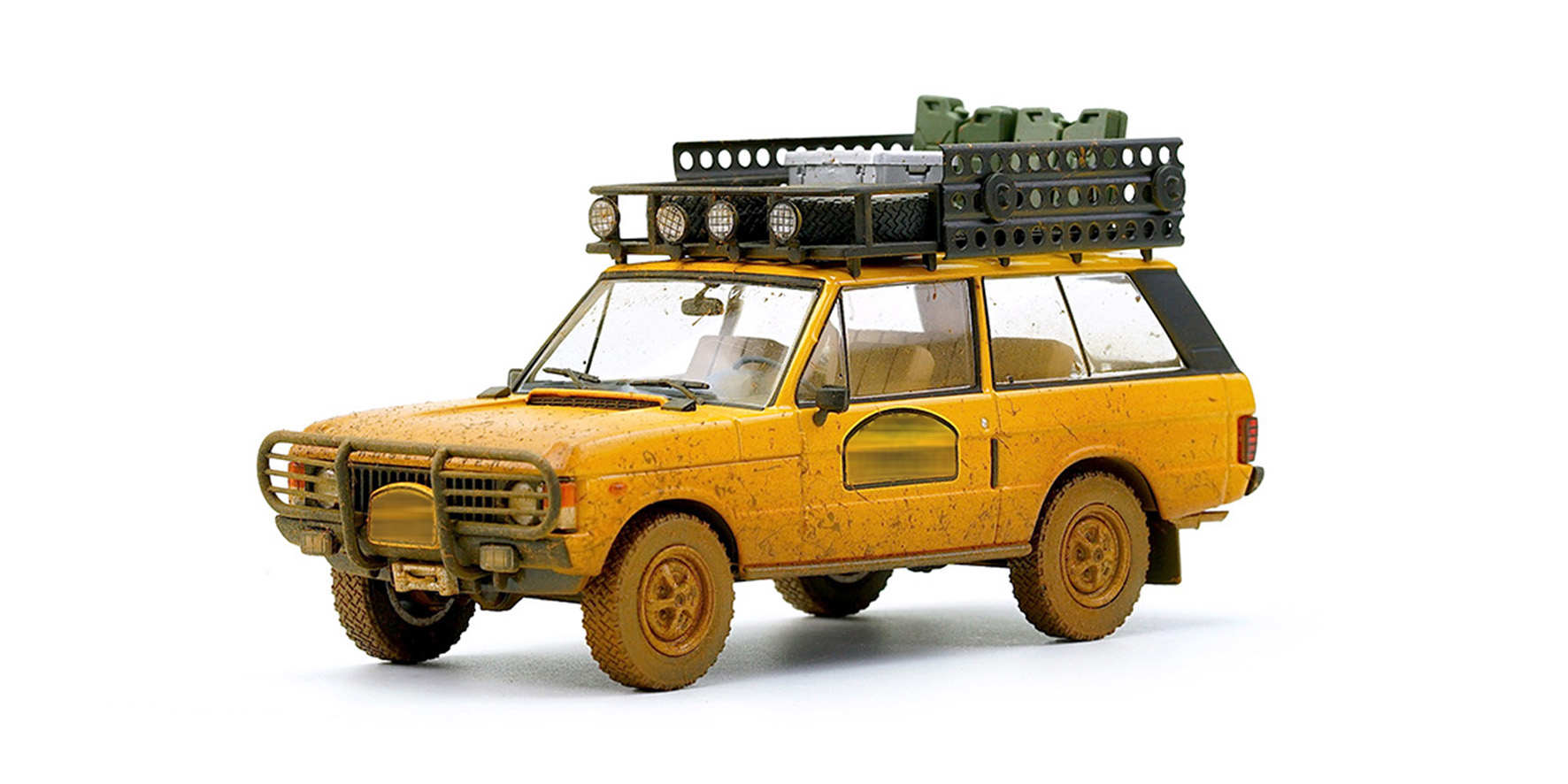 Range Rover Camel Trophy Papua New Guinea 1982 Dirty version - 1:43