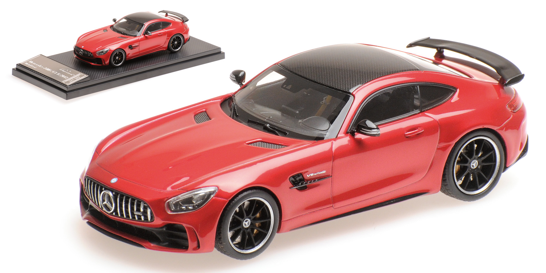 Mercedes-Benz AMG GTR 2017 Rood Metallic
