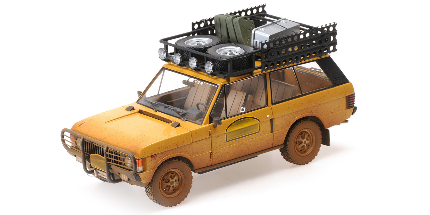 Range Rover Camel Trophy Papua New Guinea 1982 Dirty version - 1:18