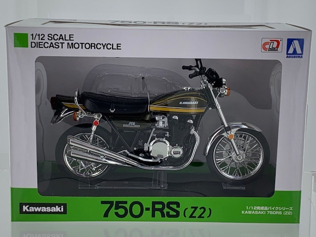 Kawasaki 750-RS (Z2) Yellow Tiger - 1:12