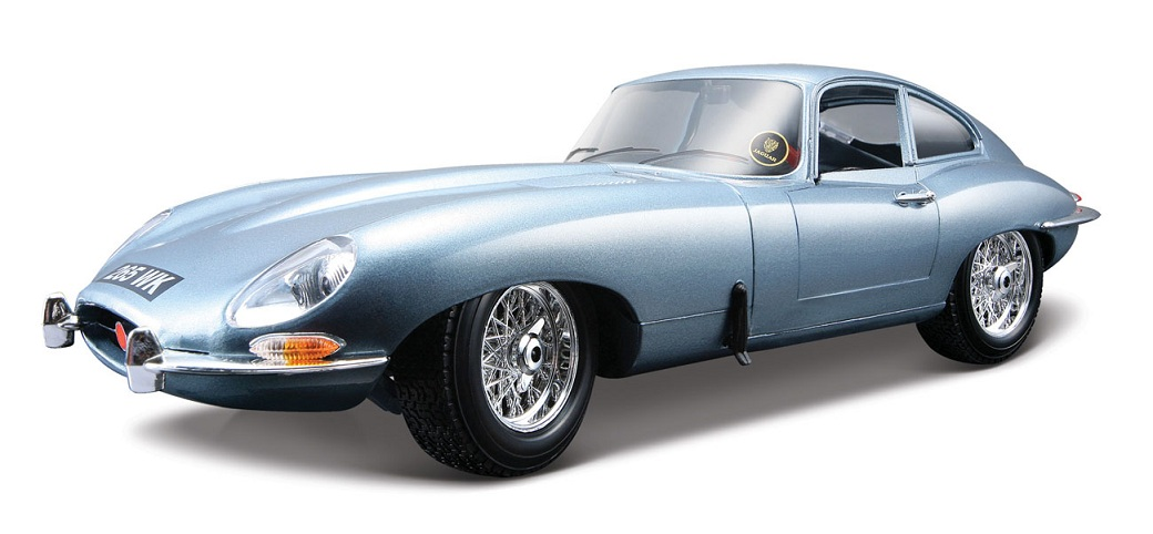 Jaguar E-Type Coupe 1961 Blauw