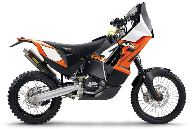 KTM Cycle 450 Rally Oranje/Zwart