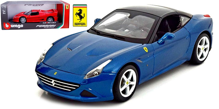 Ferrari California T Closed Blauw - 1:18