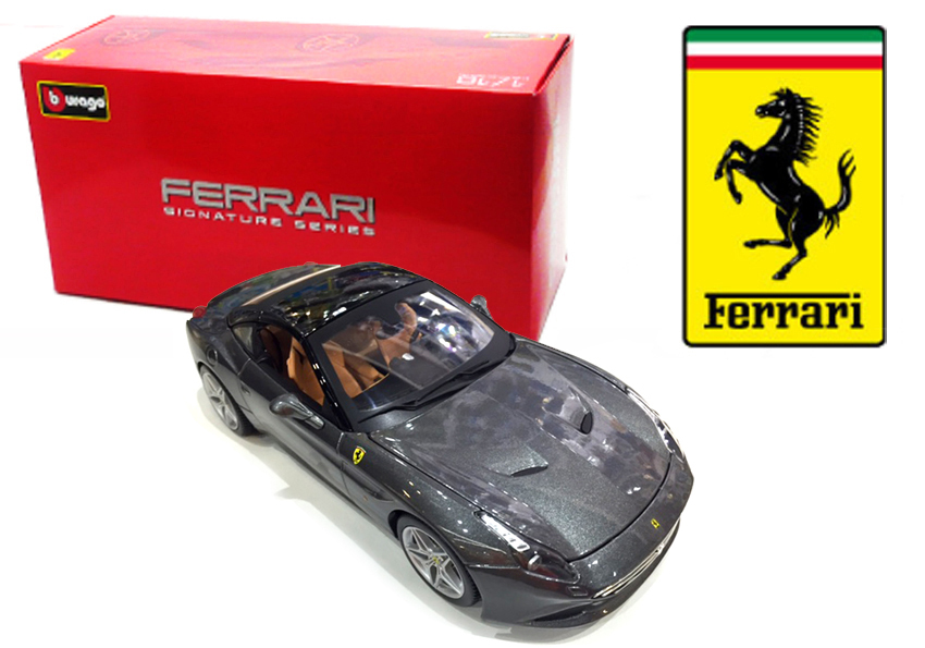 Ferrari California T Closed Grijs Signature Series - 1:18
