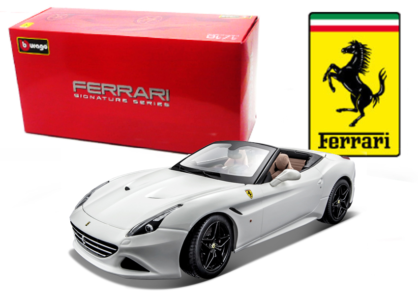 Ferrari California T Open Wit Signature Series - 1:18