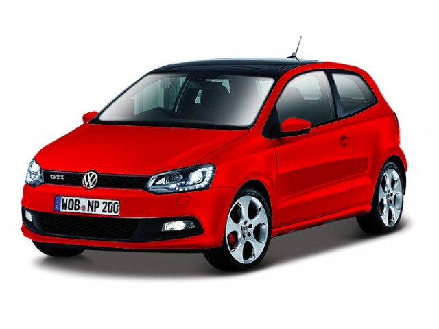 Volkswagen Polo GTI M5 rood