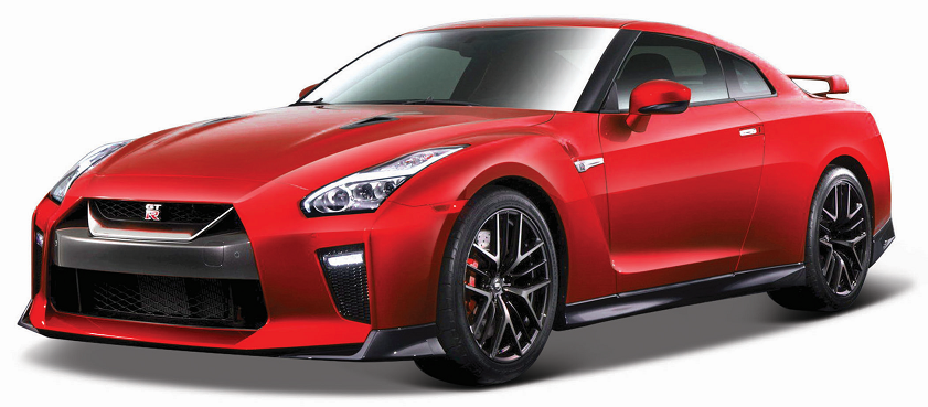 Nissan GT-R 2017 Rood