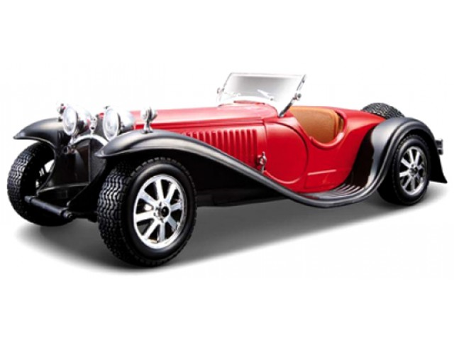 Bugatti Type 55 Cabriolet 1932 Red/Black