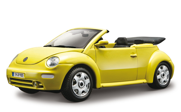 Volkswagen New Beetle Cabriolet 2003 Geel - Kit