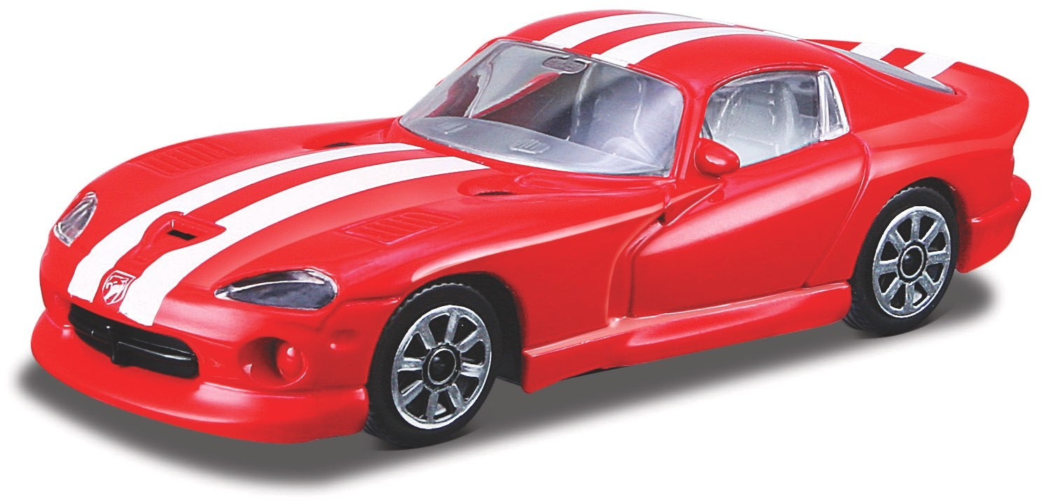 Dodge Viper GTS Coupe Rood/Wit