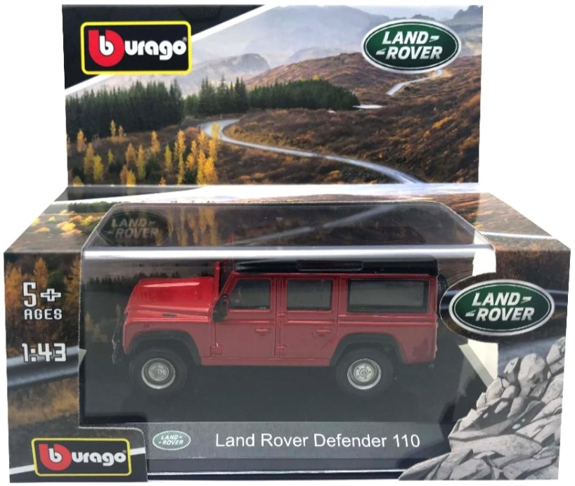Land Rover Defender 110 Rood Metallic