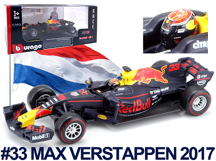 Red Bull Racing RB13 F1 No.33 2017 M. Verstappen (Luxe)