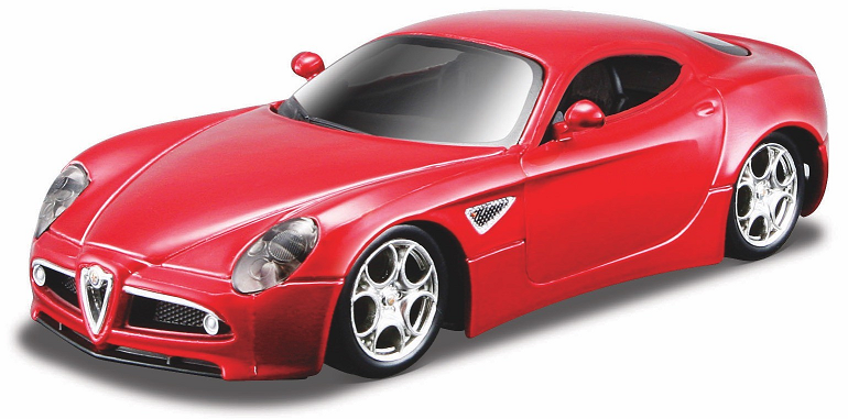 Alfa 8 C Competitione rood