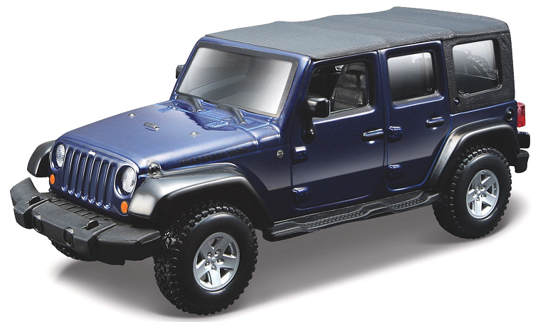 Jeep Wrangler Unlimited Rubicon 2010 Donkerblauw