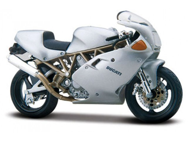 Ducati Supersport 900 FE Zilver