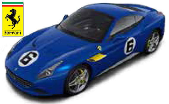 Ferrari California T No.6 The Sunoco - 1:18