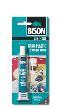 Bison Hard Plastic lijm kaart 25ml