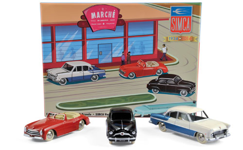 Coffret Simca 80 Years Anniversary