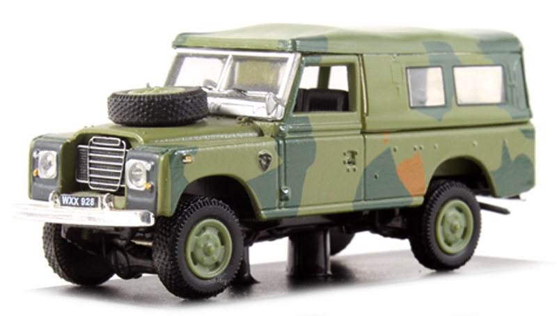 Land Rover Serie III 109 Camouflage
