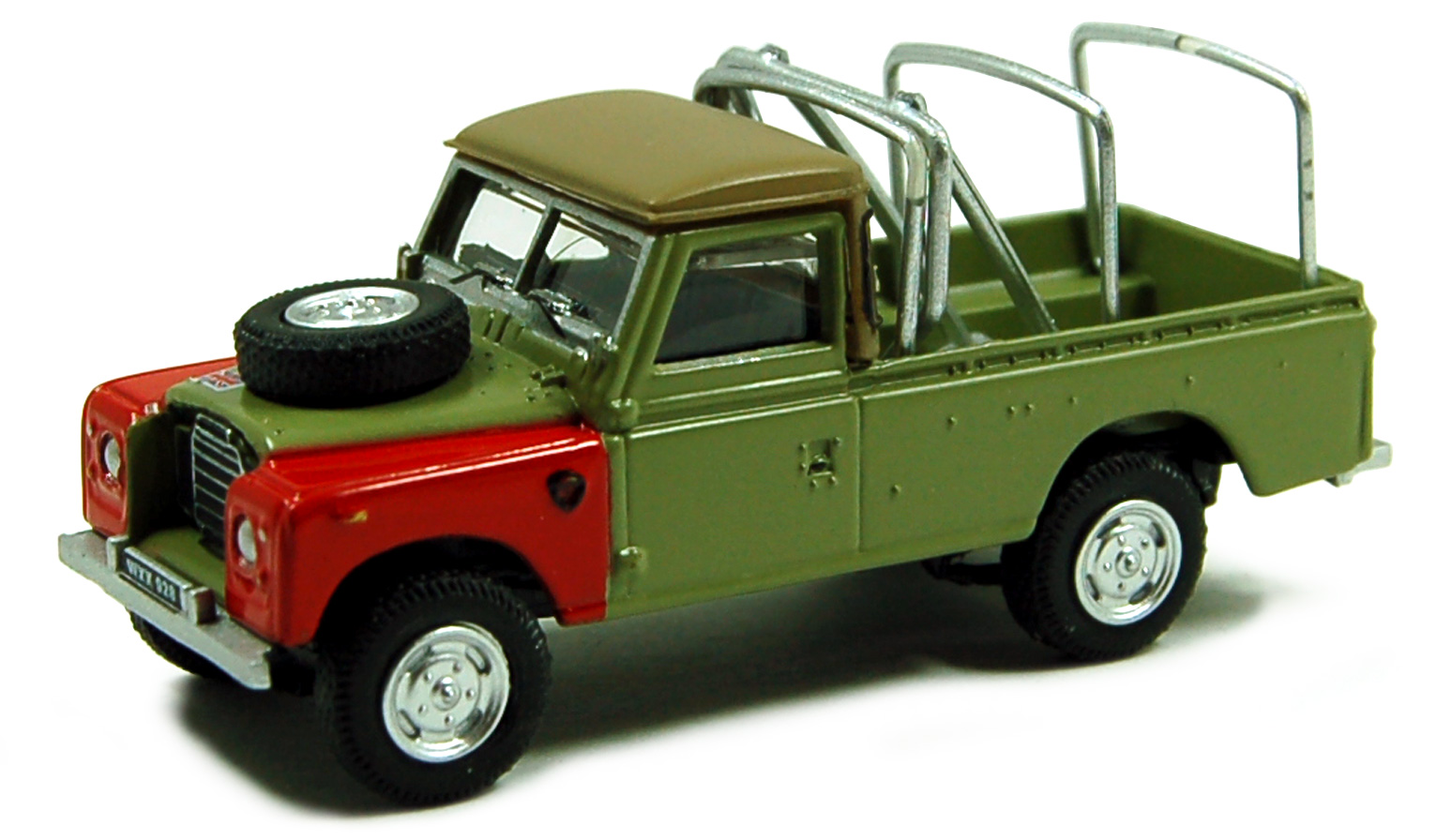 Land Rover Serie III 109 Pick Up Groen