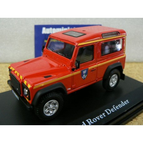 Land Rover Defender 90 Pompier SDIS 88 Vosges - Limited Edition
