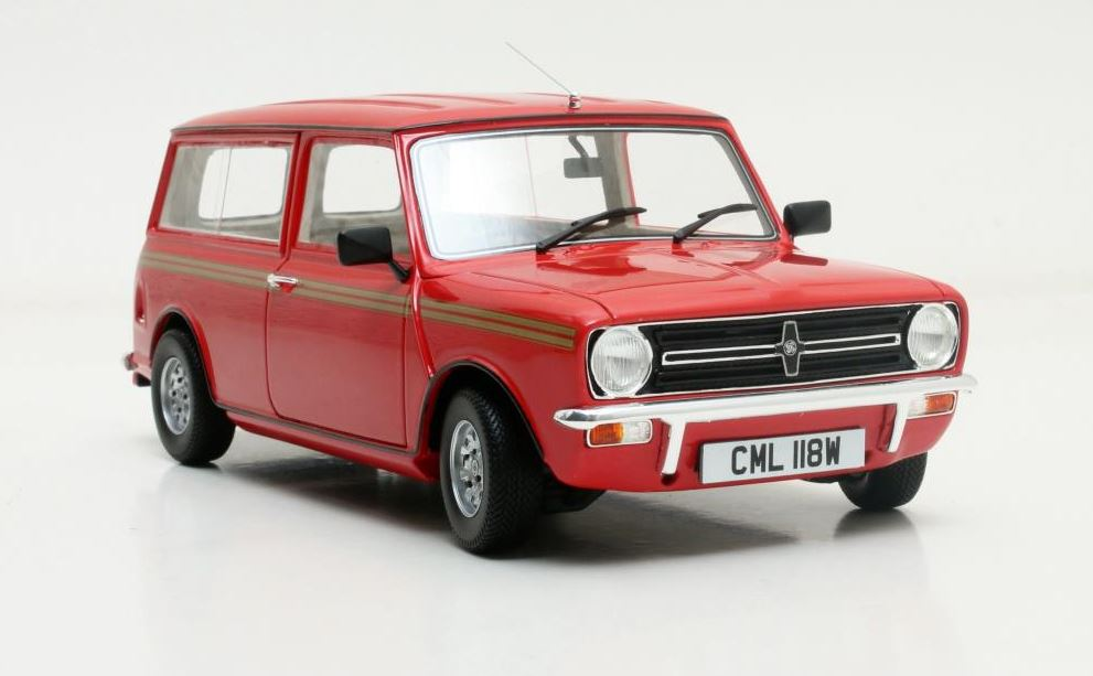 Mini Clubman Estate 1974 Rood