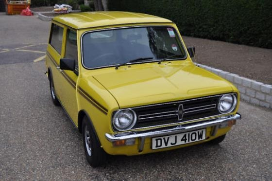 Mini Clubman Estate 1974 Geel