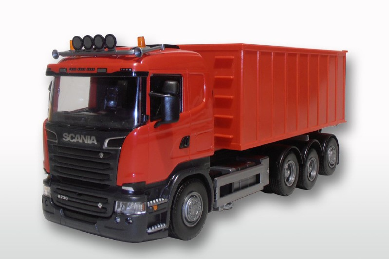 Scania R (1-3) met Afzetcontainer groot - Rood