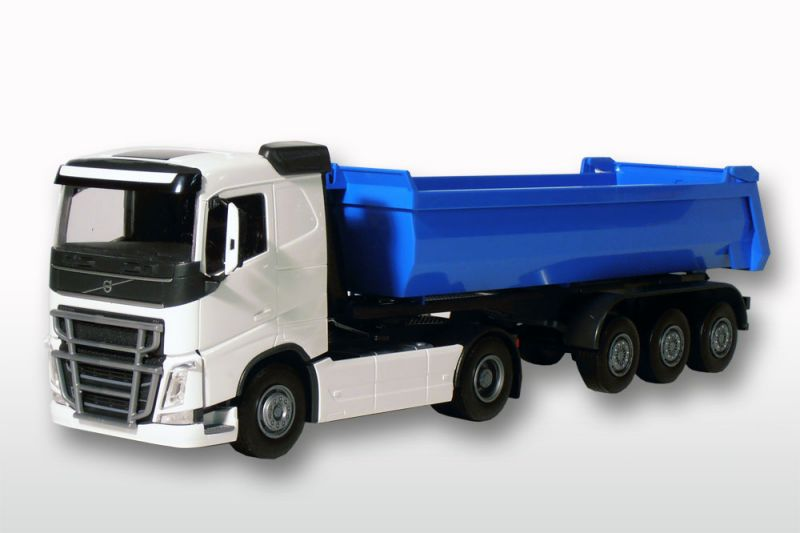 Volvo FH (New) 2-As Wit met Blauwe 3-As Kieper