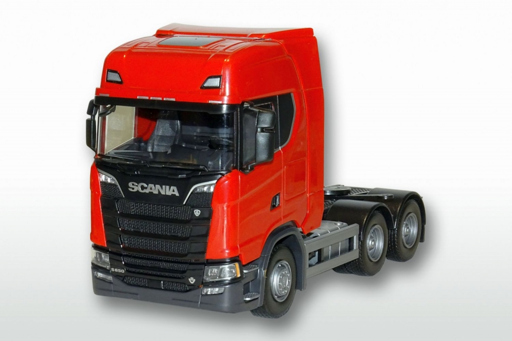 Scania CS650 V8 6x4 - Rood