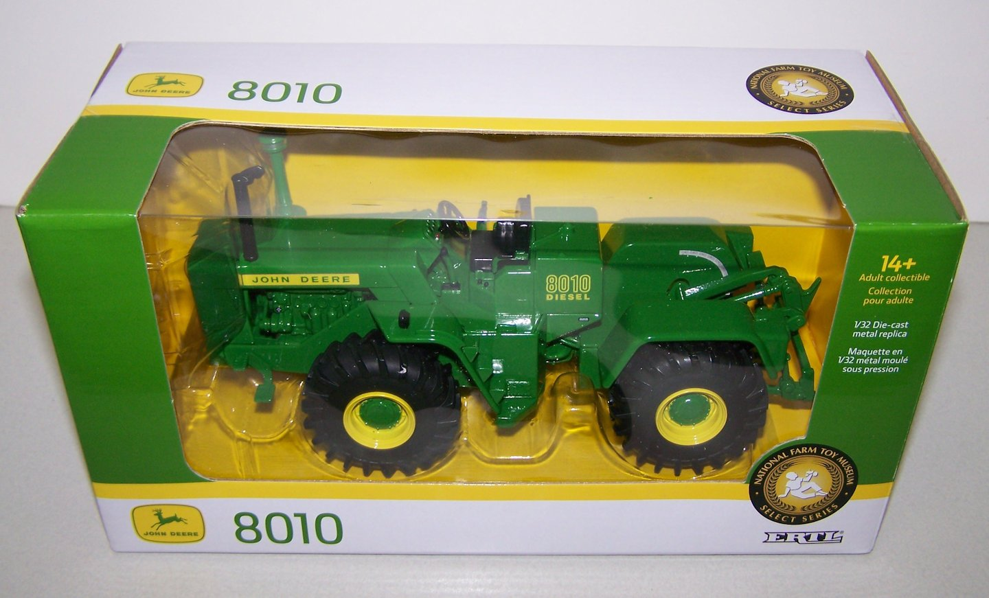John Deere 8010 4wd 2018 - National Farm Toy Museum