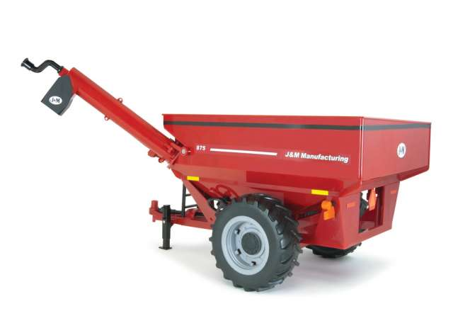 Big Farm J&M Grain Cart Red