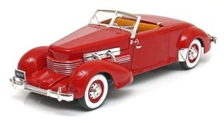 Cord 812 Cabriolet 1937 Red