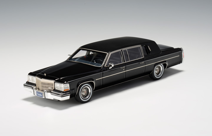 Cadillac Fleetwood Formal Limousine 1984 Black