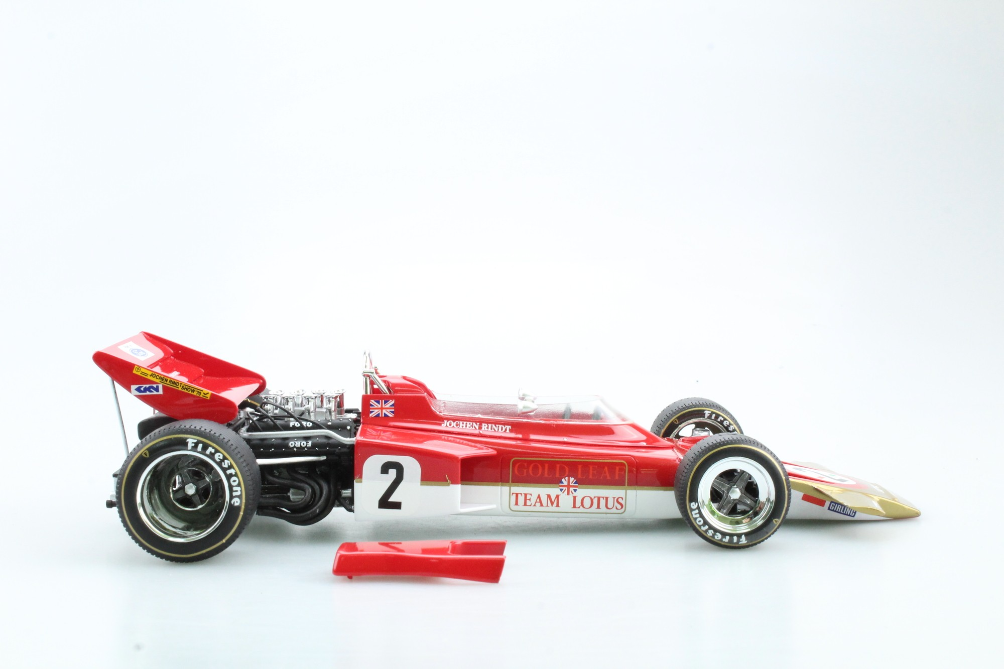 Lotus 72c World Champion J. Rindt