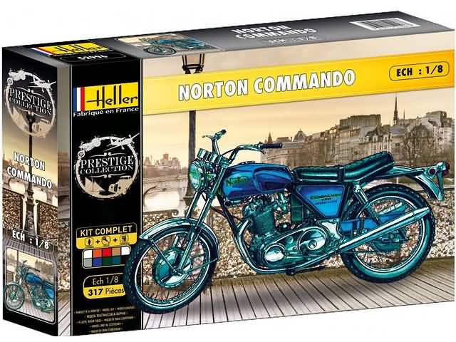 Norton Commando - 1:8