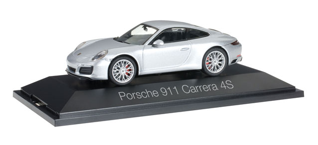Porsche 911 Carrera 4S Coupe Zilver Metallic