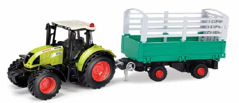 Claas Arion 540 met Veetransporter - 1:32