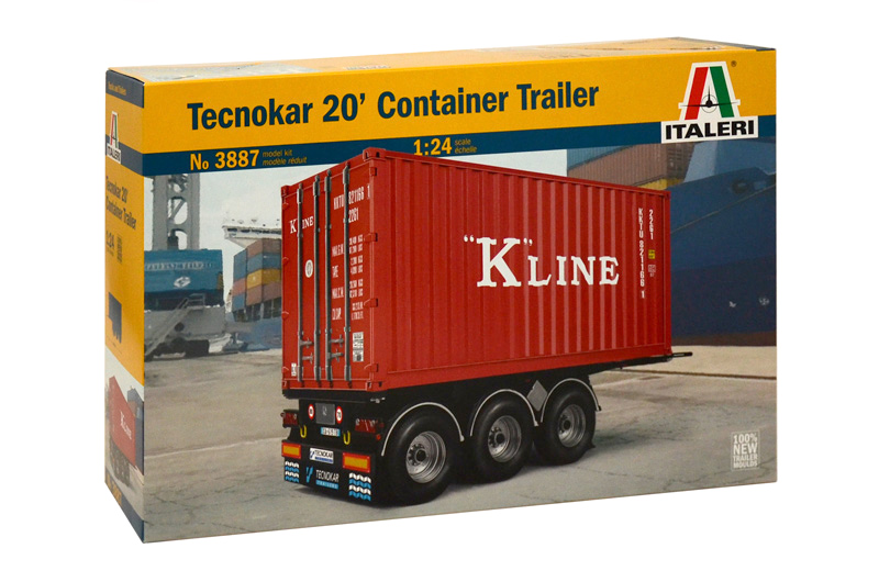 Container Trailer 20ft