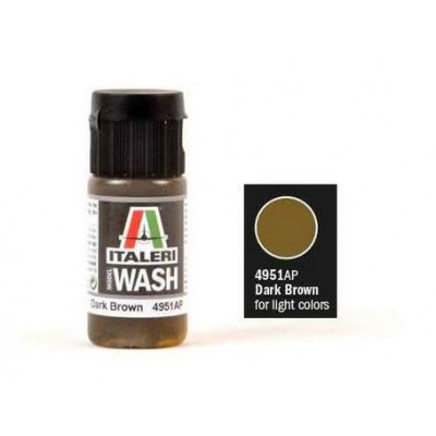 Model Wash Dark Brown