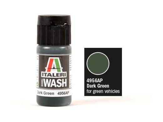 Model Wash Dark Green