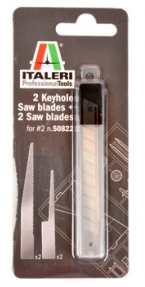 2 Key Hole + 2 Saw Blades Italeri