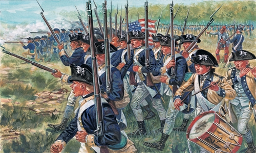 American Infantry - Am. Indep. Wars 1776