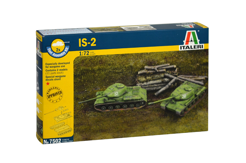 IS-2 (2 Fast Assembly Models)
