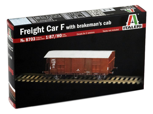 Freight Car F with Brakemann Cab - 1:87