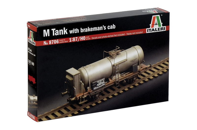 M Tank Car with Brakemann Cab - 1:87