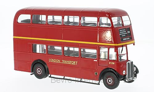 AEC Regent III RT RHD London Transport 1939 Rood