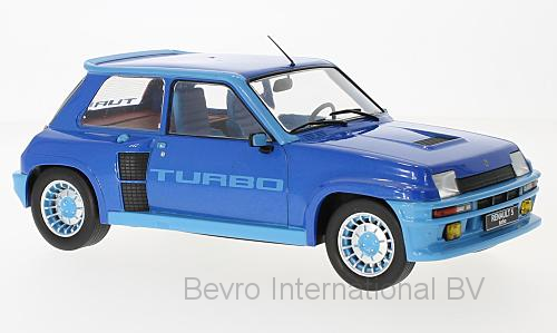 Renault 5 Turbo Phase 1 1981 Blauw