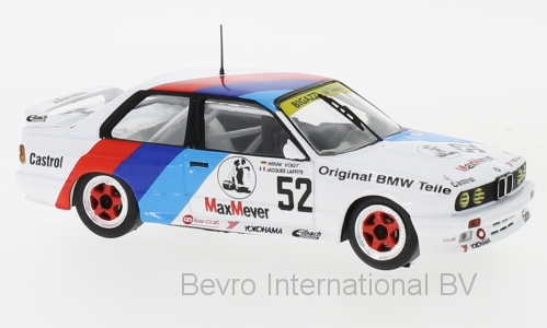 BMW M3 (E30) No.52 Bigazzi M Team ETCC 1988 Laffite/Vogt